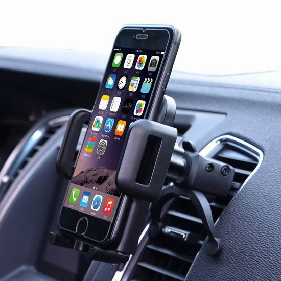 历史新低!U-good 夹式车载通用 手机支座3.3折 7.99加元!