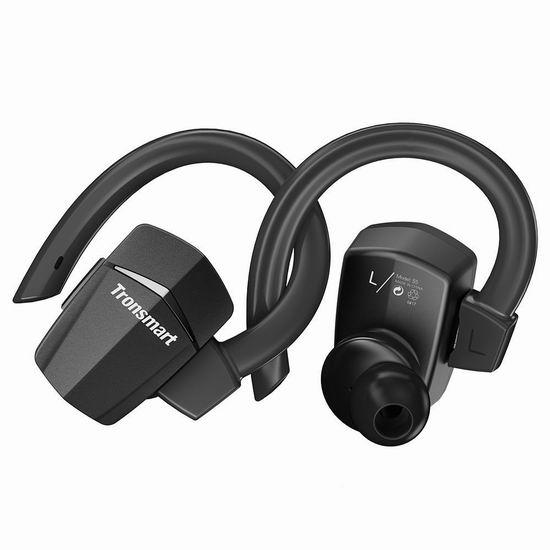 白菜价!历史新低!Tronsmart 分离式 真无线蓝牙耳机2.2折 10.99加元包邮!