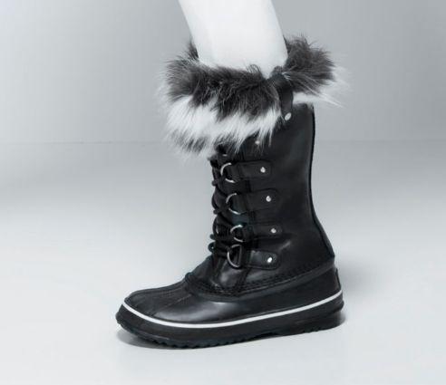 Sorel 加拿大冰熊 Joan of Arctic Lux 女式真皮防水雪地靴3.2折 129.99加元!