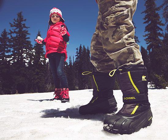 Sorel 加拿大冰熊 Flurry 儿童防水防滑雪地靴 32.43加元清仓!7色可选!