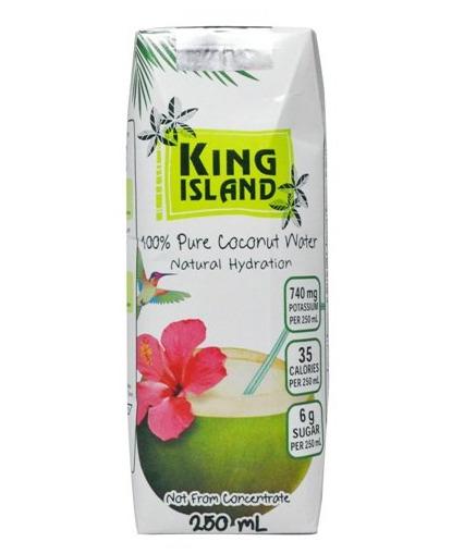 营养价值高又好喝 King Island 100% 椰子水 3瓶装 3.49加元