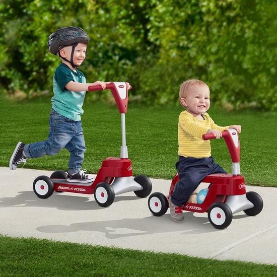 Radio Flyer Scoot 2合1滑板车/扭扭车 52.76加元,原价 120.16加元,包邮