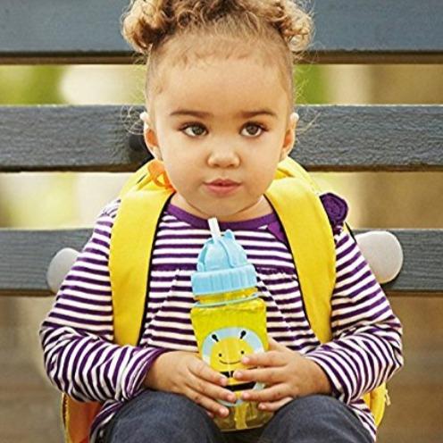 Skip Hop 蜜蜂图案吸管水杯 5.22加元,原价 9.99加元