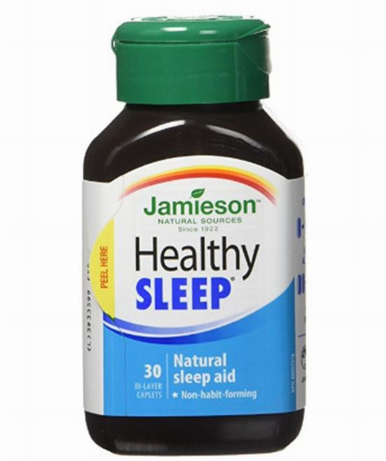 改善睡眠!Jamieson 健美生 Healthy Sleep 健康睡眠 天然褪黑素 10.82加元(30粒),原价 18.99加元