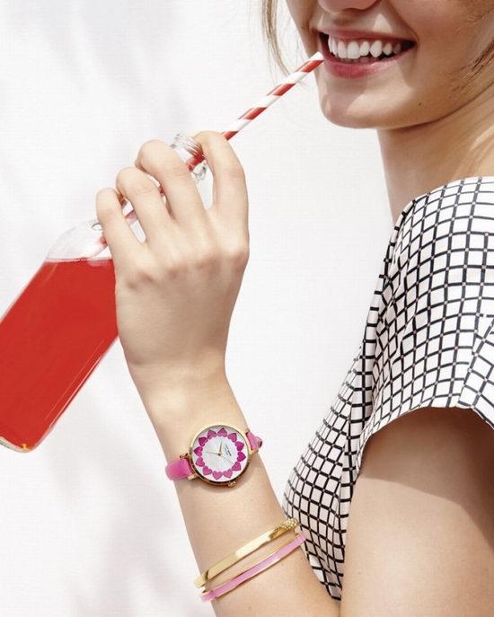 精选 KATE SPADE NEW YORK 少女心满满的时尚手表 6折 120加元起特卖!