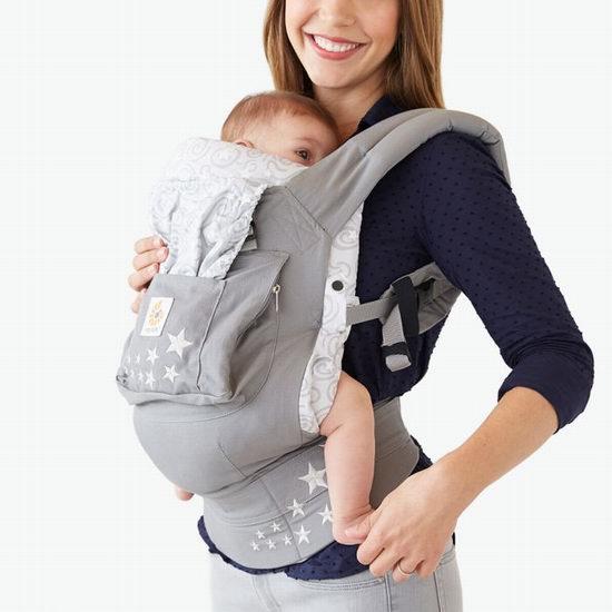 精选 4款 Ergobaby Original 婴儿背带 59.99加元,原价 159.99加元,包邮