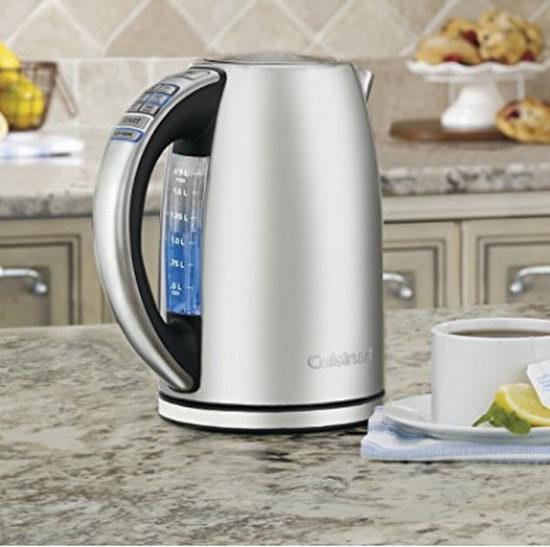 Cuisinart CPK-17 PerfecTemp 无绳可编程电热水壶 87.99加元,原价 119.99加元,包邮