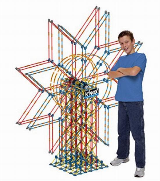 全世界公认最具创意性的建构积木!K'nex 6英大型双重摩天轮积木模型 77.67加元,原价 324加元,包邮