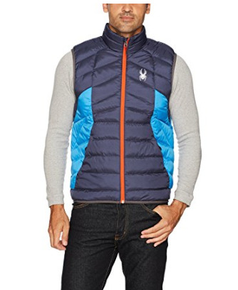 Spyder Active Sports  Geared Synthetic男士仿羽绒背心 35.38加元起(3色),原价 199加元
