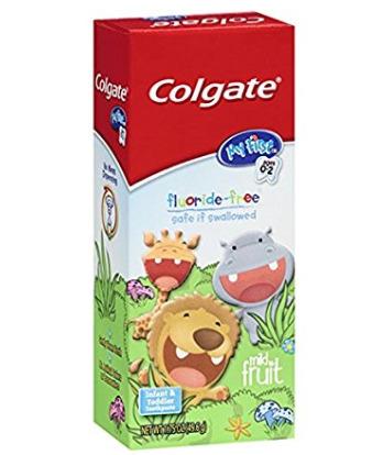 Colgate 儿童无氟牙膏 2.71加元,原价 4.99加元