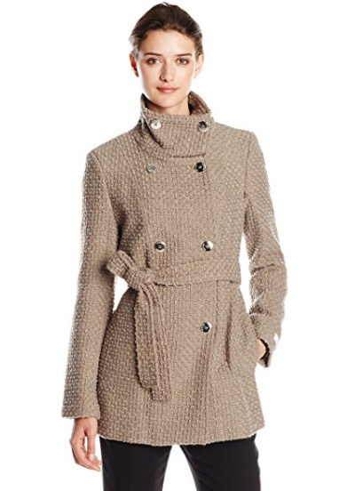 CK双排扣羊毛大衣 52.25加元(xs码),原价 168.99加元,包邮
