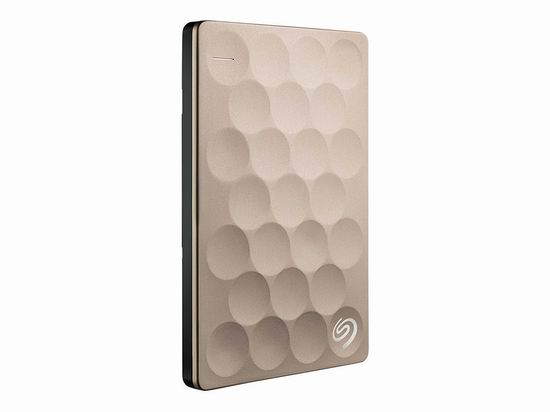历史新低!Seagate 希捷 Backup Plus 金色版 超便携 2TB 移动硬盘 89.99加元包邮!
