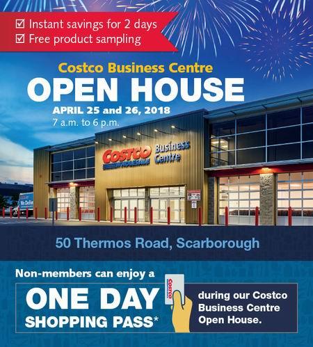Costco Business Centre 多伦多商业批发中心开放日!无需会员卡也能购物了!