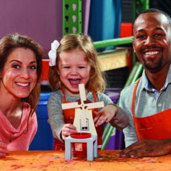 Home Depot 4-5月份免费儿童手工课,及家庭装修免费课程安排一览!