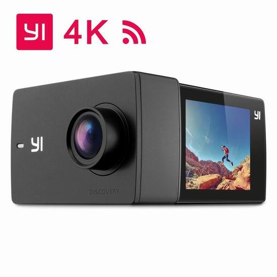 历史新低!小米 小蚁 YI Discovery 4K超高清WiFi运动相机 58.99加元包邮!