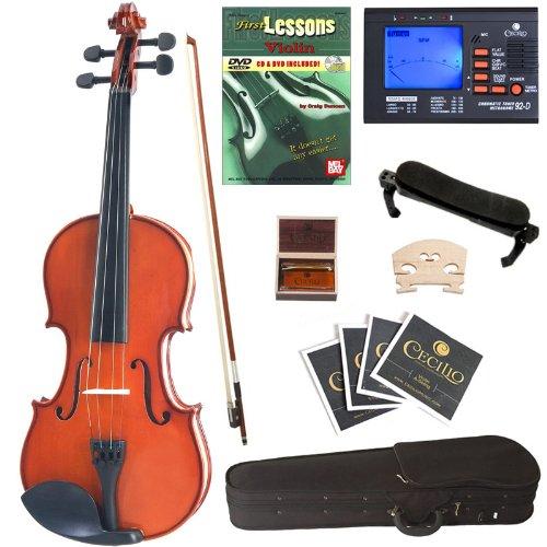 白菜价!历史新低!Cecilio CVN-100 Size 1/10 儿童实木小提琴超值套装3.3折 65.48加元包邮!