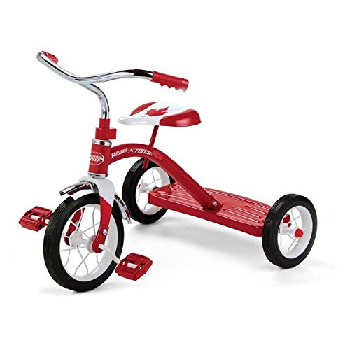 Radio Flyer 红爵士 34-150A 加拿大150周年国庆限量版 儿童三轮车4.8折 65.76加元包邮!