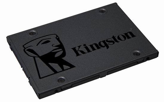 历史新低!Kingston 金士顿 A400 SSD 480GB 固态硬盘 59.99加元包邮!