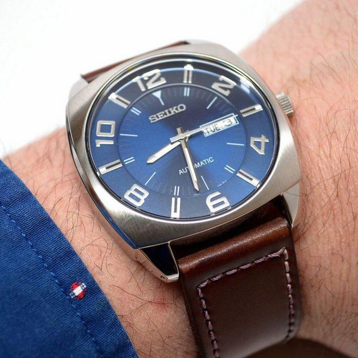 近史低价!Seiko 日本精工 SNKN37 男士自动机械腕表/手表4.9折 135.5加元包邮!