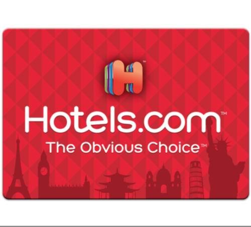 Hotels.com 全球宾馆住宿 电子礼品卡8.5折!