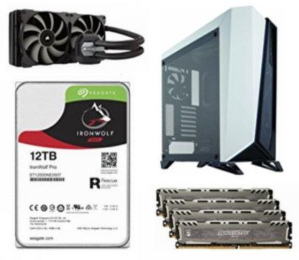 金盒头条:精选多款 Corsair、Ballistix、Seagate、NETGEAR、Crucial 等品牌内存、NAS硬盘、固态硬盘、路由器、机箱、CPU风扇等电脑配件5.5折起!