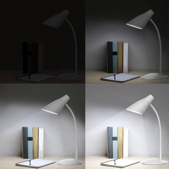 历史新低!AUKEY LT-ST13 4.8瓦 LED 白色时尚护眼台灯3.9折 17.99加元清仓!