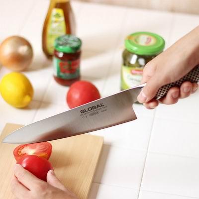 史低速抢!Global 日本具良治 G2 20厘米 主厨刀+磨刀器套装5.3折 79.99加元包邮!