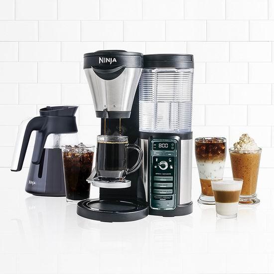 历史新低!Ninja CF080C 多功能咖啡机5折 99.88加元包邮!