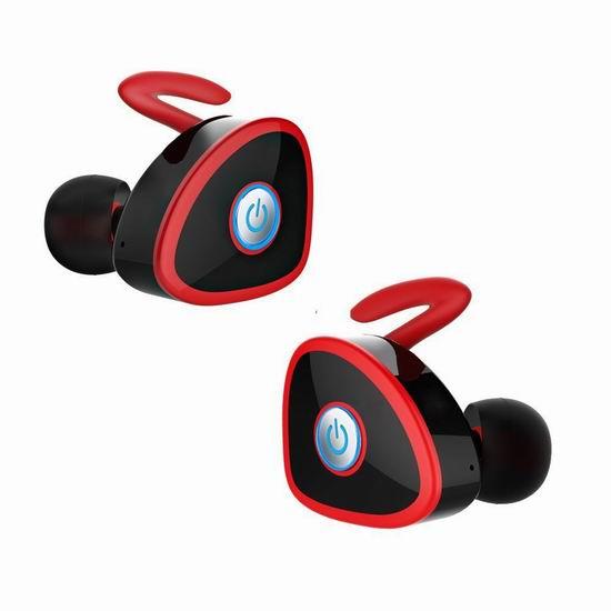 白菜价!历史新低!FKANT Gemini 真无线蓝牙耳机2.3折 15.99加元包邮!