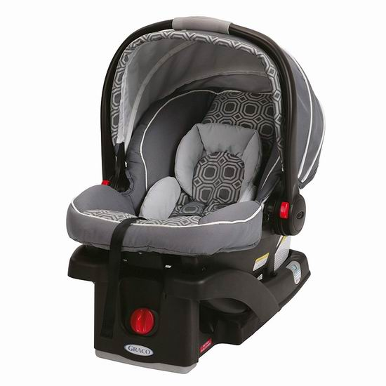 Graco 葛莱 SnugRide Click Connect 35 经典款 超轻婴儿汽车安全提篮5.7折 159.99加元包邮!2色可选!