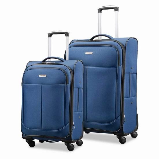 Samsonite 新秀丽 Advance Xlt 21寸&29寸 软壳拉杆行李箱2件套2.7折 161.43加元包邮!皮实耐用!