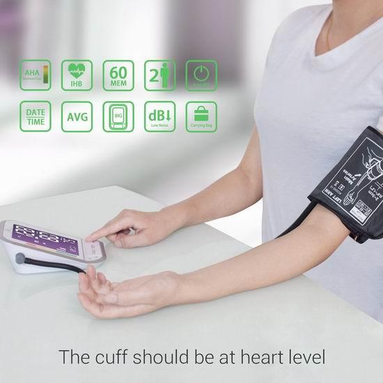 历史新低!1byone 上臂式电子数字血压计5.8折 28.59加元!