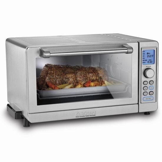 历史最低价!CUISINART TOB-135NC豪华对流蒸汽烤箱6.6折 148.98加元包邮!