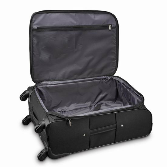 销量冠军!Samsonite 新秀丽 Advance Xlt 21寸&29寸 软壳拉杆行李箱2件套2.5折 151.91-153.79加元包邮!皮实耐用,2色可选!
