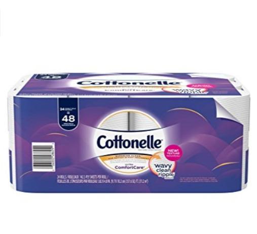 销量冠军!Cottonelle Ultra Comfortcare 24卷双层超强卫生纸 10.44加元!