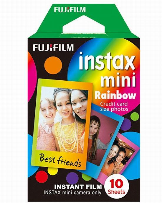 Fujifilm Instax 迷你拍立得相纸10张 6.98加元,原价 13.99加元