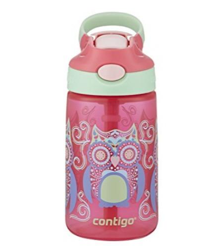 Contigo AUTOSPOUT 14盎司儿童吸管水杯 12.5加元,2色可选!