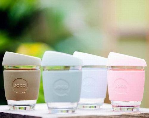 澳洲品牌!JOCO 随行防烫玻璃杯/咖啡杯 8折+满40加元立减10加元!