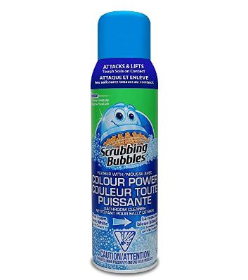 去污小能手!Scrubbing Bubbles 变色泡沫清洁剂 2.69加元,原价 4.99加元