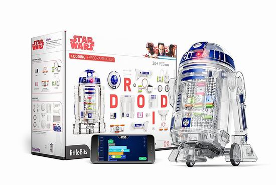 Star Wars 星球大战 Droid Inventor 星球大战发明者套装 89.99加元,原价 129.95加元,包邮