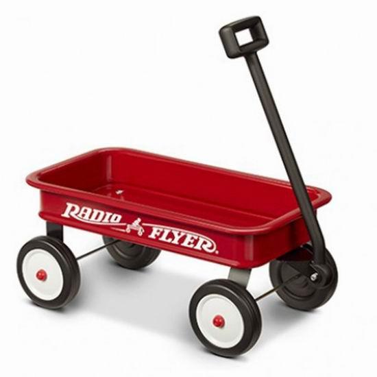 历史新低!Radio Flyer 红爵士 My 1st Wagon 儿童玩具小拖车3折 17.6加元!