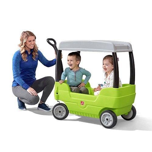 Step2 Canopy 带顶棚 儿童双人拖车4.1折 64.97加元!