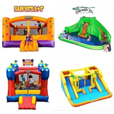 金盒头条:精选11款 Blast Zone 大型儿童充气式蹦床、水上乐园等5.9折起!