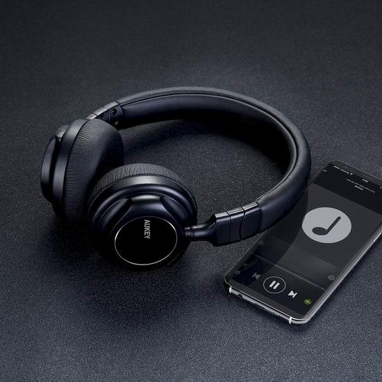 历史新低!Aukey EP-B36 可折叠头戴式蓝牙耳机4.4折 34.99加元包邮!