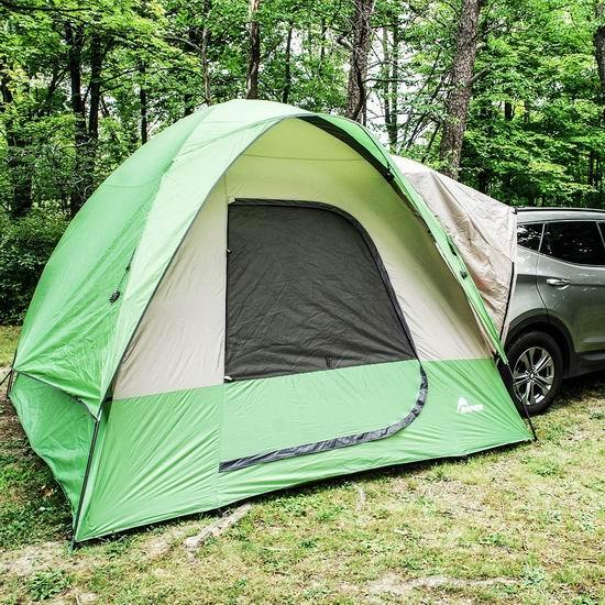 历史新低!Backroadz Napier SUV越野车5人家庭野营帐篷5.5折 179.99加元包邮!