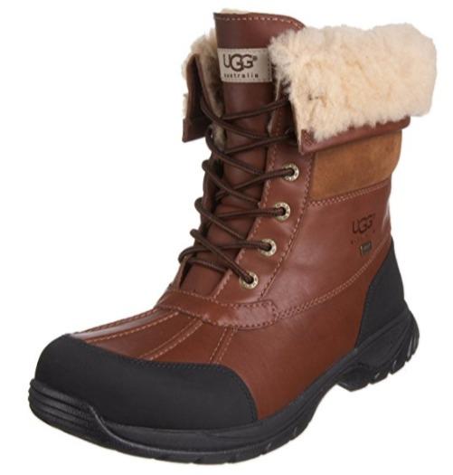 UGG Butte 严寒系列 男士真皮短靴(9码)5.3折 159.1加元包邮!