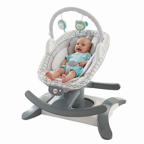 Fisher-Price 费雪 四合一 婴儿摇篮/安抚座椅5.6折 89.99加元包邮!