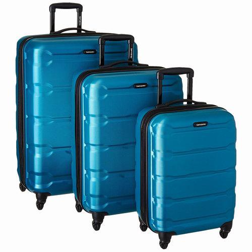 近史低价!Samsonite 新秀丽 Omni 全PC 20/24/28寸 轻质硬壳拉杆行李箱3件套 306.08加元包邮!