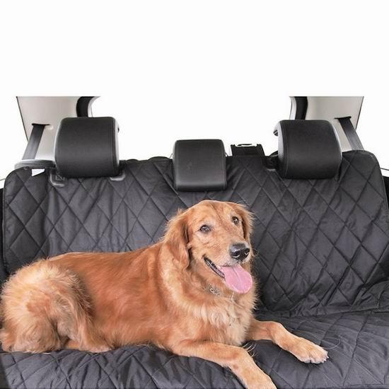 历史新低!HAOCOO 防滑防刮防水 宠物狗汽车后座套4.7折 15.99加元清仓!