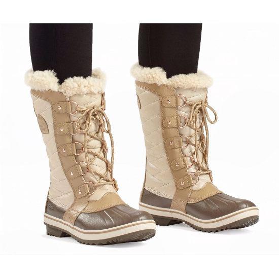 Sorel 加拿大冰熊 Tofino II 女式防水真皮雪地靴4.1折 103.93加元!